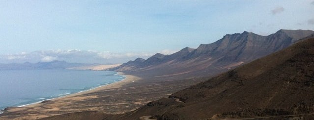 Playa de Cofete is one of fuerteventura.