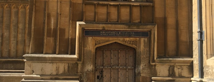 Bodleian Library is one of Lugares favoritos de Gio.