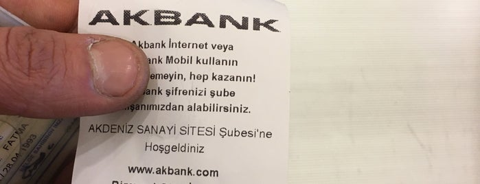 Akbank is one of Lugares favoritos de Mete.