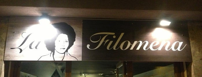 La Filomena is one of Locais salvos de Fabio.