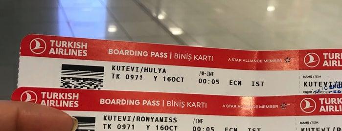 Ercan Havalimanı Pasaport Kontrol is one of Locais curtidos por Nuran.