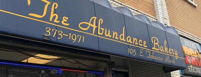Abundance Bakery is one of Lieux qui ont plu à Avi.