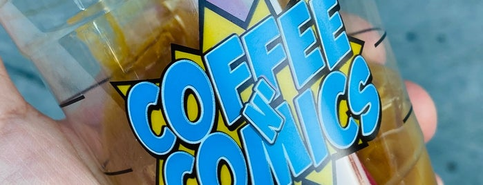 Coffee N' Comics is one of Posti che sono piaciuti a Chris 😈.