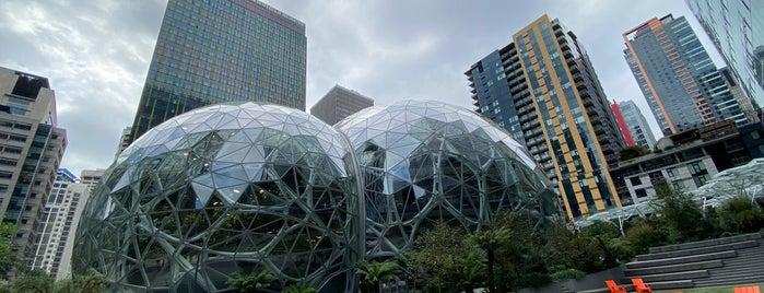 Amazon - The Spheres is one of Seattle, WA.