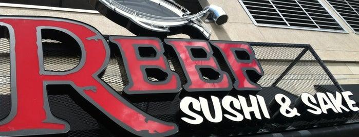 Reef Sushi & Sake is one of Lugares favoritos de Alden.
