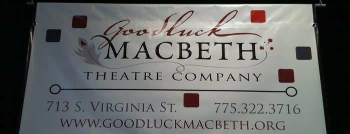 Good Luck Macbeth Theater is one of Paige : понравившиеся места.