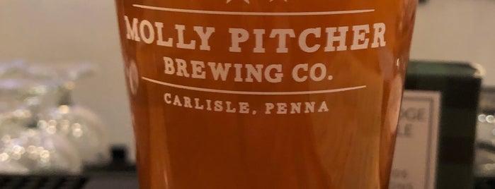 Molly Pitcher Brewing Co. is one of Locais salvos de Randy.