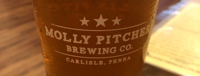 Molly Pitcher Brewing Co. is one of Drink beer here.