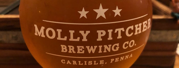 Molly Pitcher Brewing Co. is one of Lieux sauvegardés par Randy.