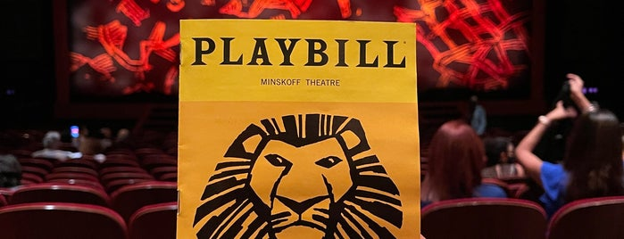 Lion King Broadway Musical is one of Travelling.