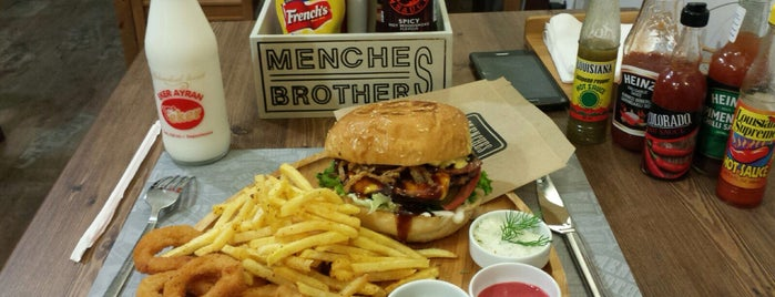 Menches Brothers is one of Fast Food.