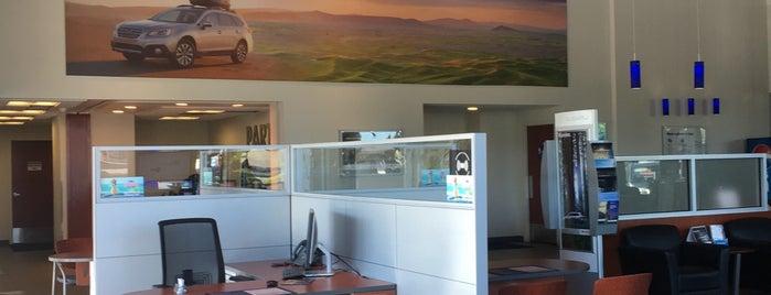AutoNation Subaru Spokane Valley is one of Posti che sono piaciuti a Ainsley.