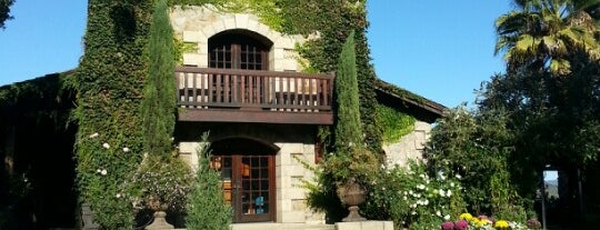 V. Sattui Winery is one of Favorite Wineries Around the World.