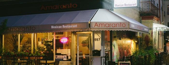 Amaranto is one of Mexican deliciosos.