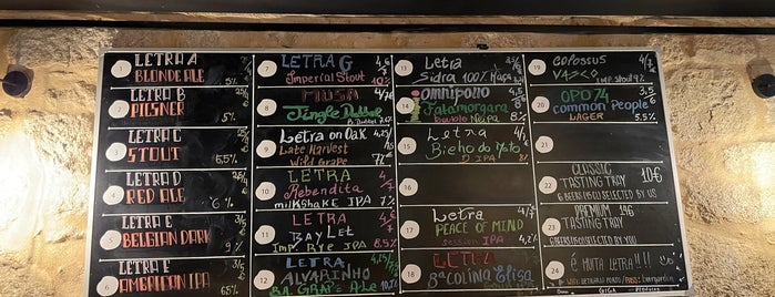 Letraria - Craft Beer Garden Porto is one of Portugal 🇵🇹.