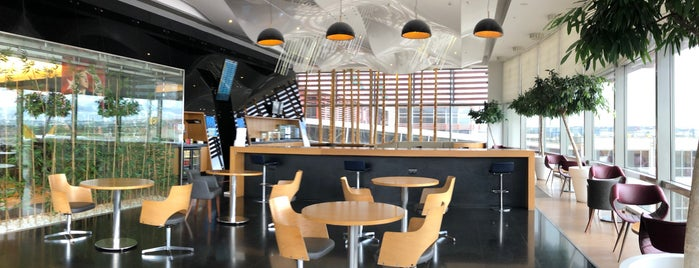 ISG International CIP Lounge is one of Locais curtidos por Metin.