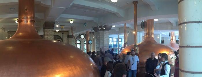 Музей пива Heineken Experience is one of Nastasya : понравившиеся места.