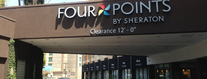Four Points by Sheraton Los Angeles International Airport is one of Fernanda 님이 좋아한 장소.