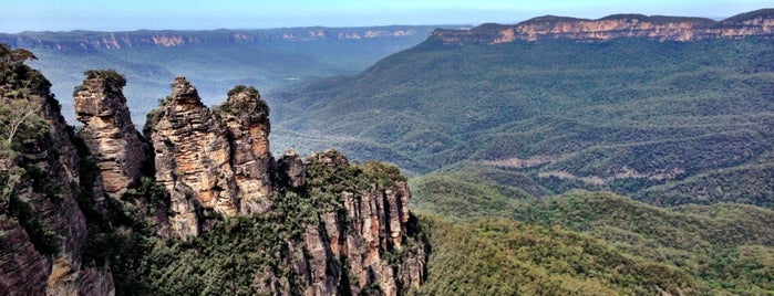 The Three Sisters is one of SYD.