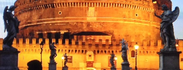 Castillo Sant'Angelo is one of Roma - a must! = Peter's Fav's.