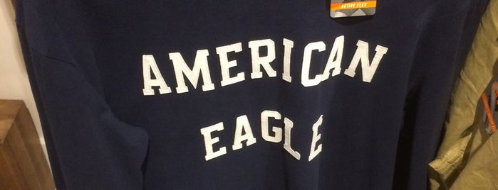 American Eagle Outfitters is one of Jaymee's Liked Places.