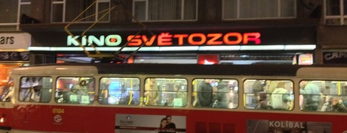 Kino Světozor is one of Bee Heere.