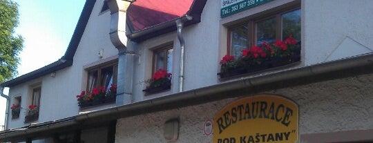 Restaurace Pod kaštanem is one of Timur'un Beğendiği Mekanlar.