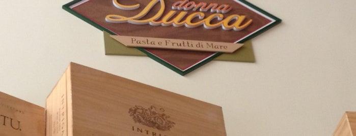 Donna Ducca - Pasta e Frutti di Mare is one of Posti salvati di Dani.