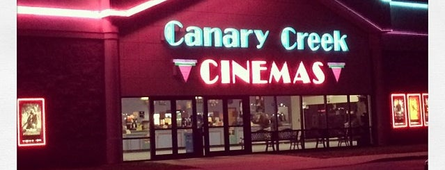 Canary Creek Cinemas is one of TAKE ME TO THE DRIVE-IN, BABY.