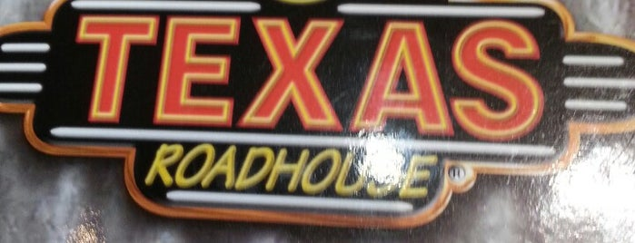 Texas Roadhouse is one of Orte, die Gregory gefallen.