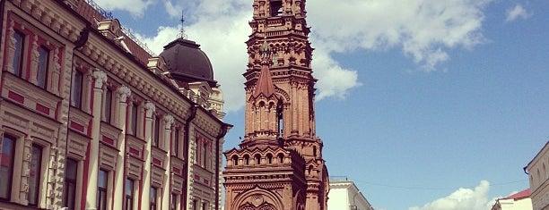 Колокольня Богоявленского собора is one of Posti che sono piaciuti a Andrey.