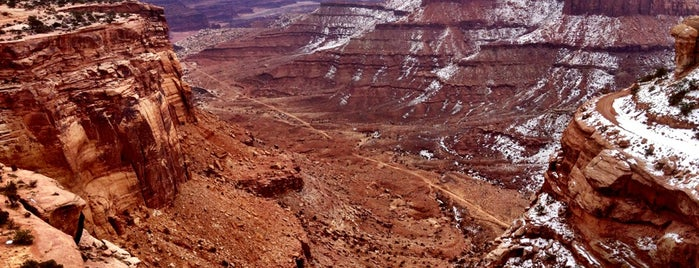 Canyonlands National Park is one of Arches Nat'l.