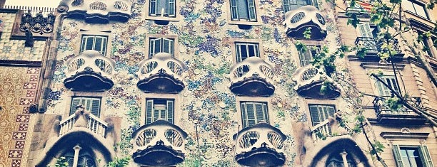 Casa Batlló is one of Barcelona, Spain.