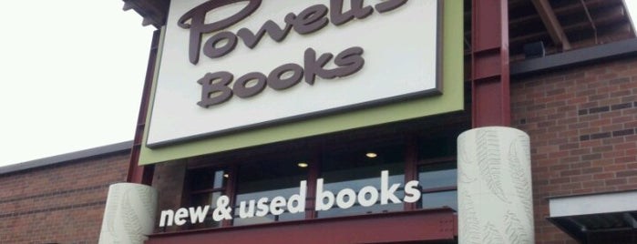 Powell's Books is one of Done and Fun.