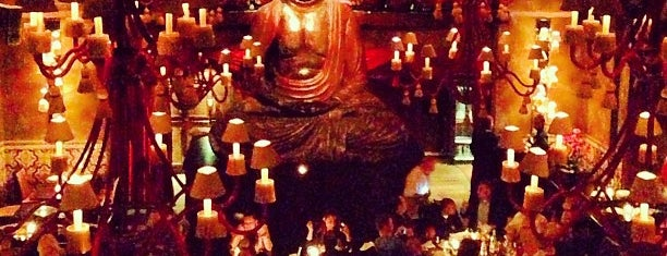 Buddha Bar is one of Paris bars.