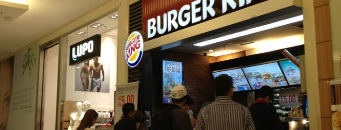 Burger King is one of Restaurante.