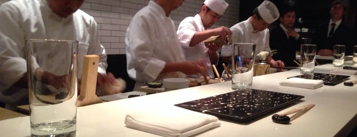 Sushi Nakazawa is one of NYC.
