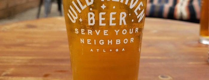 Wild Heaven Beer is one of ATL Exploration.