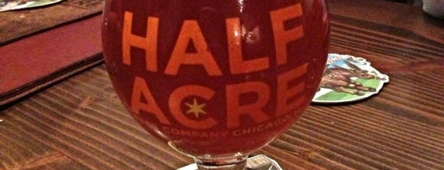Half Acre Beer Company is one of Breweries USA.