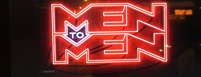 Men to Men is one of Tempat yang Disukai Brian.