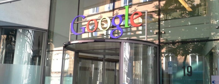 Google Hamburg is one of Lugares favoritos de Nils.
