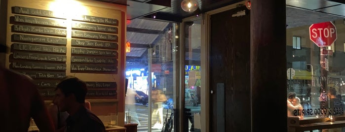 Pretty Ricky's is one of NYC Bars with Alcohol-Free Options.
