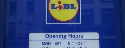 Lidl is one of Lieux qui ont plu à Iara.