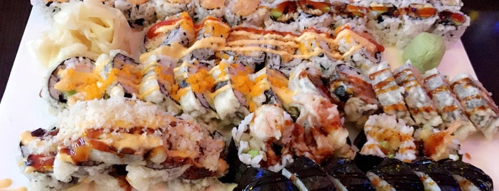 Yummy Sushi is one of Places to check out.