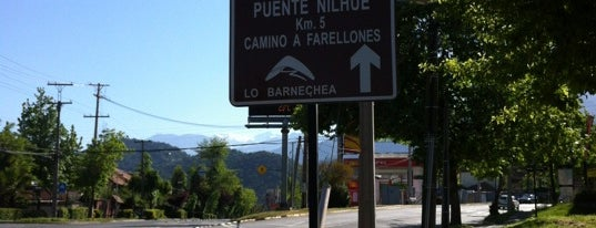 Camino A Farellones Km.0 is one of Luisさんの保存済みスポット.