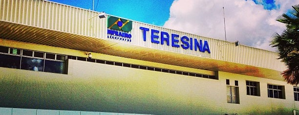 Aeroporto de Teresina / Senador Petrônio Portella (THE) is one of สถานที่ที่ Edgar ถูกใจ.
