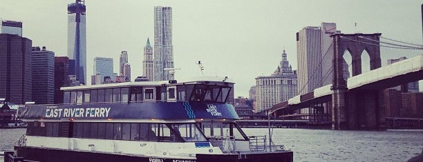 East River Ferry - Brooklyn Bridge Park/DUMBO Terminal is one of NYC Spots.