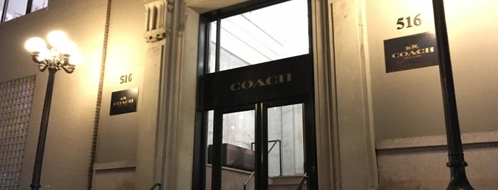 Coach Inc Headquarters is one of NY.