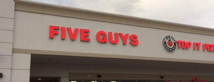 Five Guys is one of Lieux qui ont plu à Marcus.