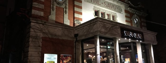The Savoy is one of Manny.